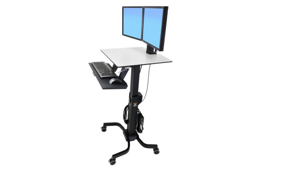 Ergotron Workfit C Sit Stand Workstations Hospital Tech
