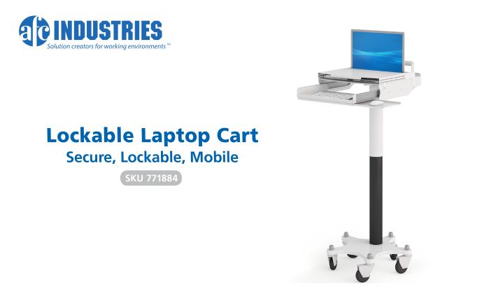 Facebook - Lockable Laptop Cart