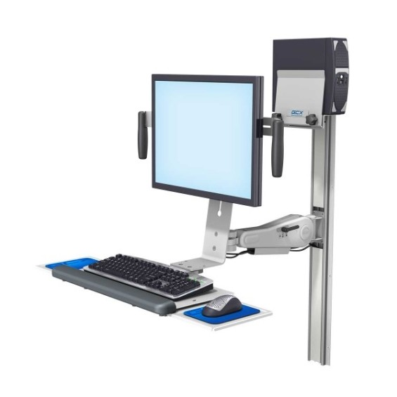 Gcx Vhm Variable Height Mount Arm For Monitor And Keyboard