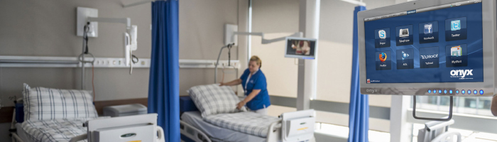 Patient Engagement Solutions, Bedside Infotainment