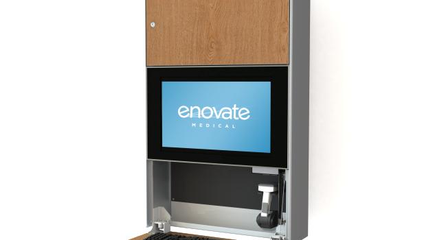 Enovate e750 Computer Wallstation