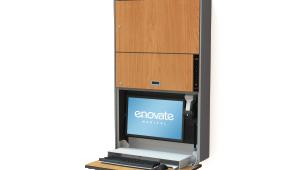 Enovate e850 Computer Wallstation